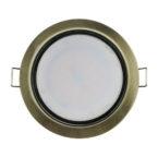 Светильник<br /> GX-53 бронза